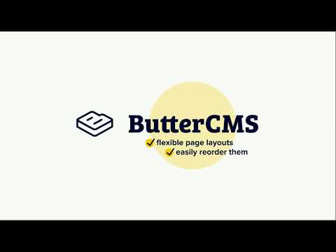 Tutorial: Create dynamic landing pages using ButterCMS Components