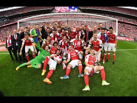 Arsenal FA Cup 2017 Champions  The Journey