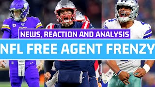 NFL Free Agency 2020 Live News | Latest Signings Reaction and Analysis