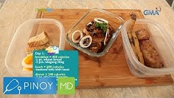 Pinoy MD: Diet meal plan for a summer-ready body!