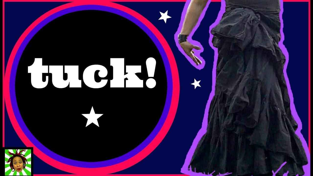GOTHIC FASHION: How To Tuck Your Skirt ~Gothic Soulflower~