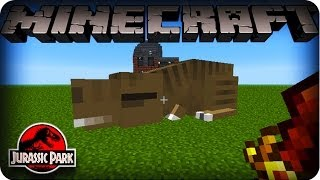 Repeat youtube video Minecraft Dinosaurs Mod - SEASON 2 - Ep # 14 'TAMING THE TREX'