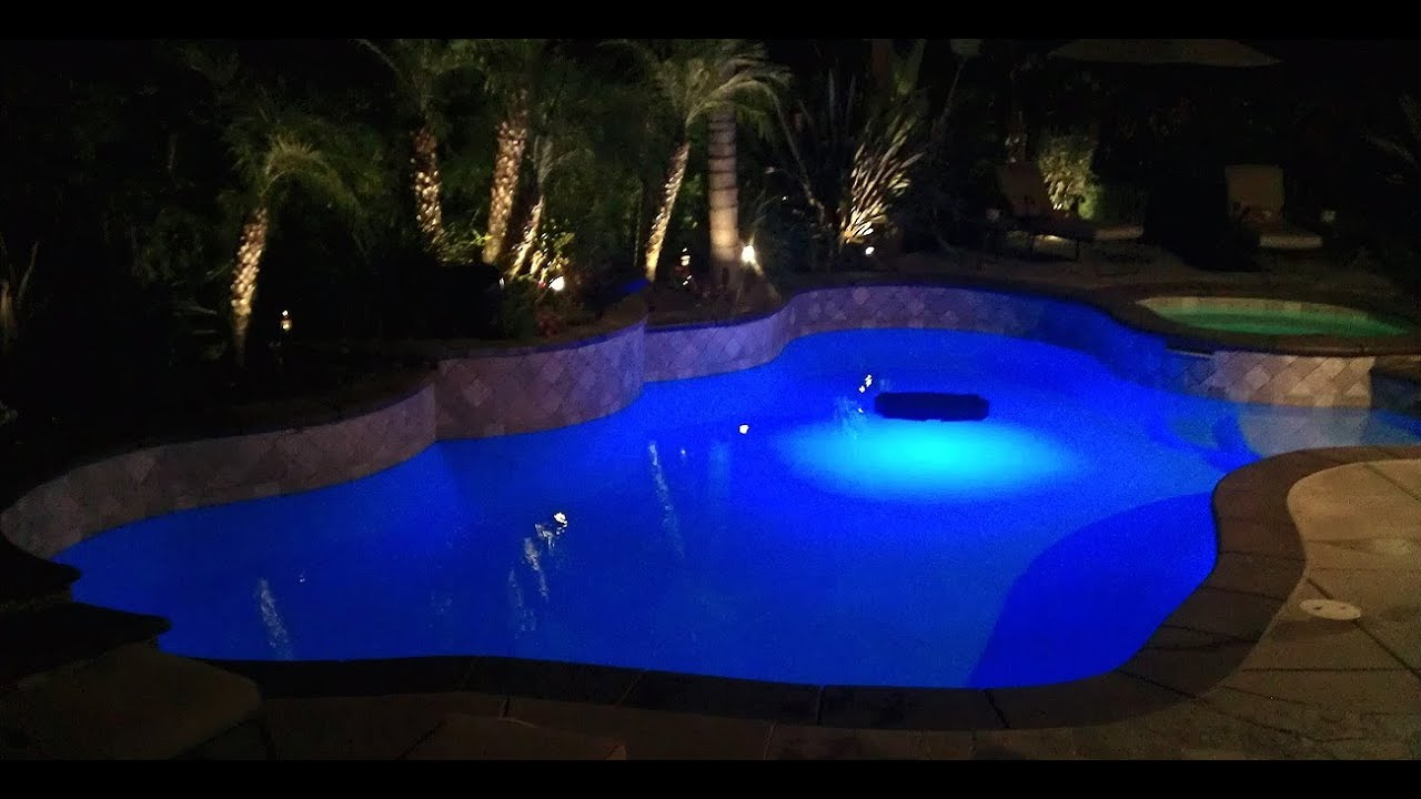 Pool Light SMD LED Color Changing Savior Solar Powered Floating Swimming  Pool Light   YouTube