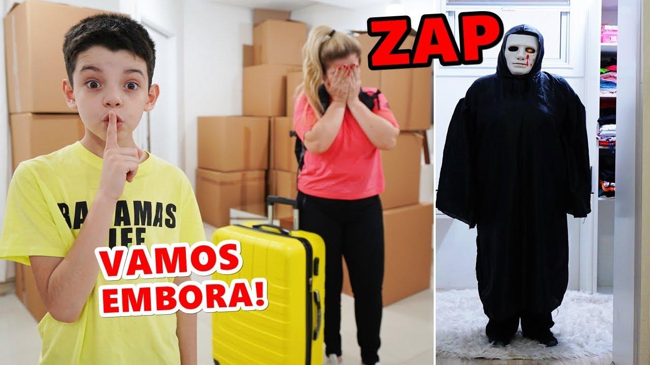 Download O ZAP EXPULSOU O PIERO START & FAMÍLIA DA CASA (VAMOS EMBORA!)