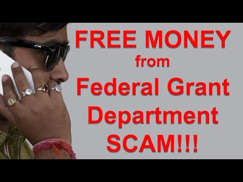 US Federal Grant Department Scam