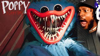 SCREAMING at a SCARY Toy Factory | Poppy Playtime (Chapter 1)