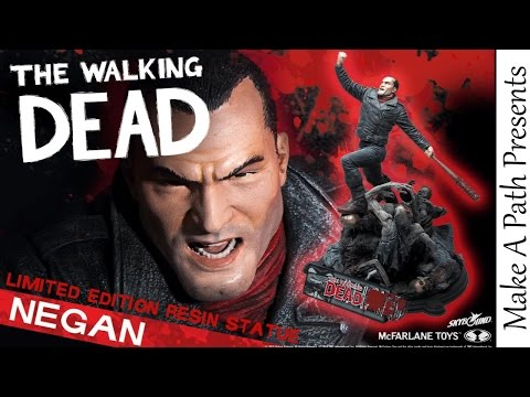 Negan Resin Statue NOW ON SALE by McFarlane Toys - The Walking Dead - 동영상