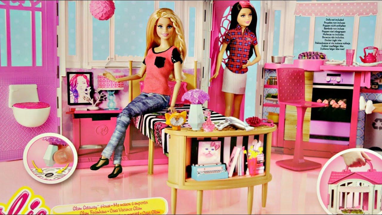 Barbie Glam Getaway House Barbie Stylowy Domek Chf54