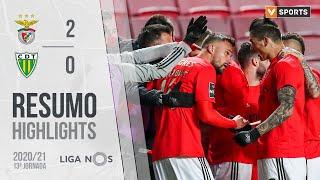Highlights   Resumo: Benfica 2-0 Tondela (Liga 20/21 #13)