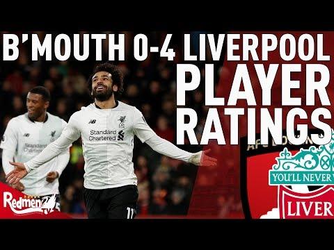 Salah Gets MOTM! | Bournemouth v Liverpool 0-4 | Chris' Player Ratings