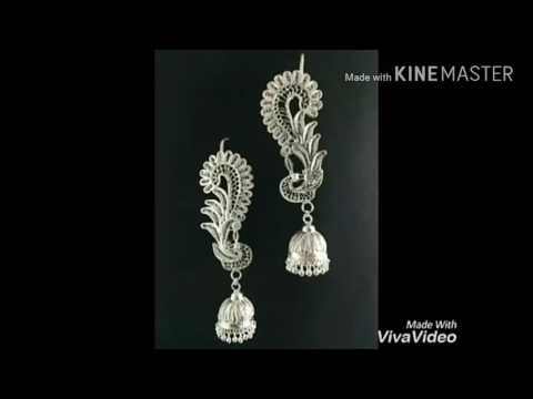 Silver filigree art of odisha.cuttack tarakasi(ତାରକସି) work. Silver filigree jewelry