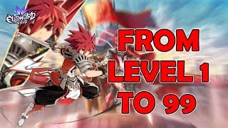 LordOfWeebs from level 1 to 99 in 4 hours!!!__ Elsword (Void)