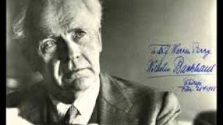 Wilhelm Backhaus plays Mendelssohn Rondo Capriccioso Op. 14