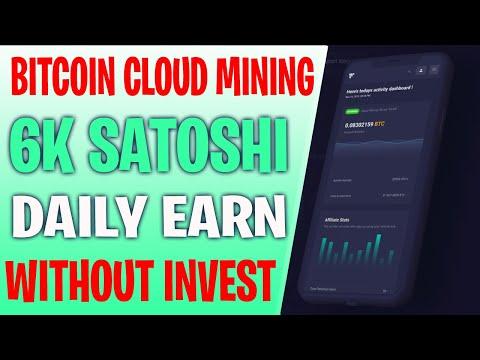 Review | 6K Satoshi Daily Earn | Free Bitcoin Earn | New Bitcoin Mining | EarnCryptoCoin | foobio