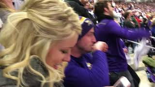 Live Reaction at U.S. Bank! Stefon Diggs Scores Walk Off Touchdown!
