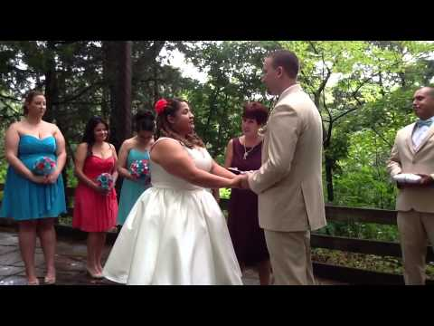 Starved Rock Wedding at Canyonside Courtyard