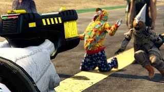 TASER vs HUMANS GTA 5 ONLINE