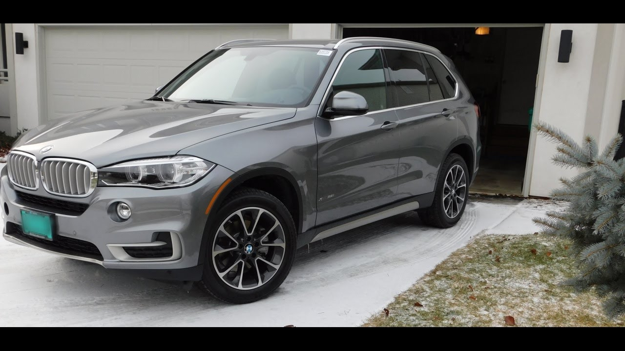 2017 bmw x5 xdrive 35i walk around quick tour start up. Black Bedroom Furniture Sets. Home Design Ideas