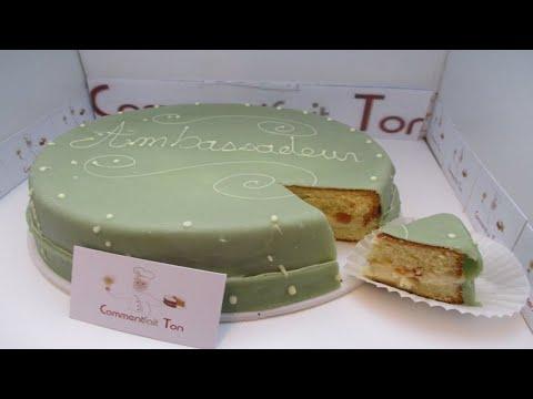 Gâteau Ambassadeur Recette De Gâteau Ancien Un Régal Par