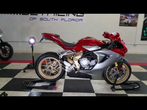 MV Agusta F3 Serie Oro / Ceramic Pro by Advanced Detailing of South Florida