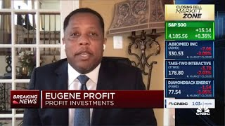 Eugene Profit says he would rather ride the rally in markets