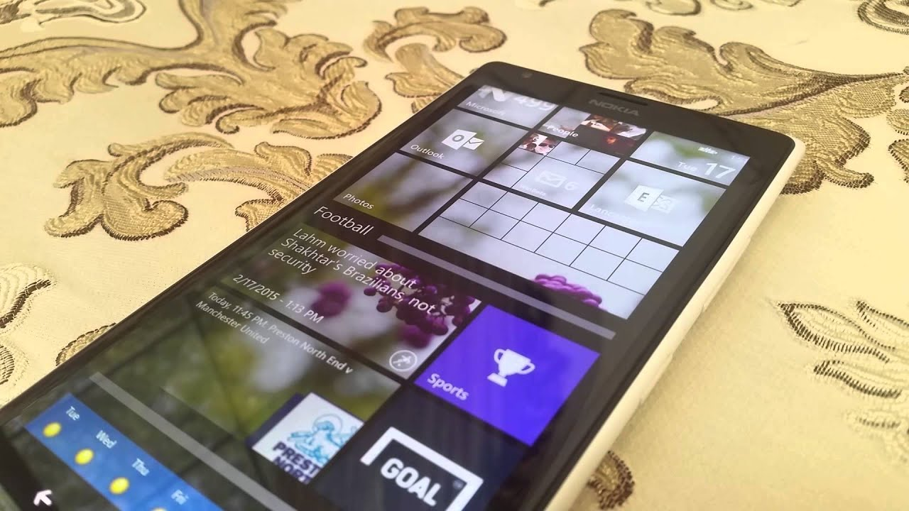 Lumia 521 denim update - Hands On With The Lumia Denim Update Running On The Lumia 1520 Video