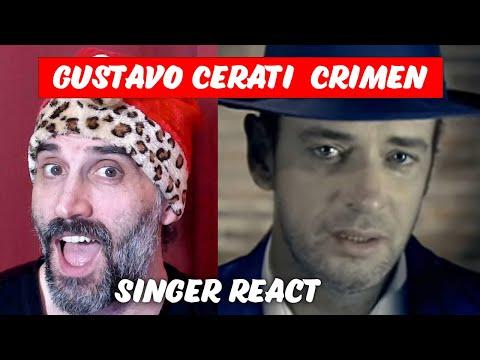 Gustavo Cerati - Crimen Singer Reaction