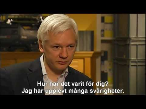 EXCLUSIVE: Swedish TV Interview with Julian Assange