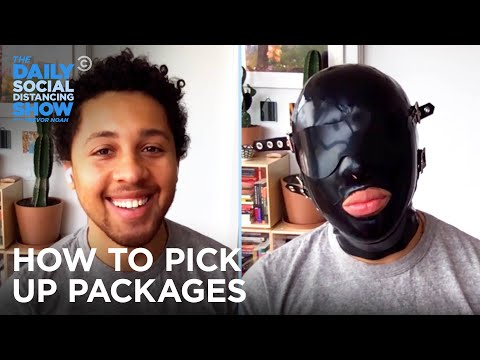 Q-Torials: How to Pick Up Packages | The Daily Social Distancing Show
