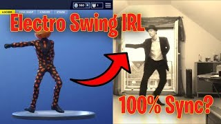 FORTNITE Electro Swing REAL LIFE REFERENCES!