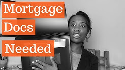 Mortgage Documents Needed