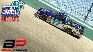 iRacing - Blazing Pedals Race 11 of 12 at Homestead | 200 Laps thumbnail