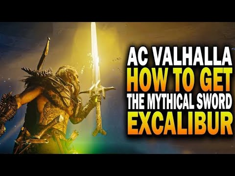 Assassin's Creed® Valhalla Unlocked Mythical WEAPON EXCALIBUR (KING Arthur  SWORD)  
