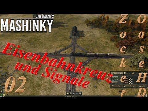 Mashinky # 02 : Eisenbahnkreuz & Signale - Eisenbahn Management Simulation