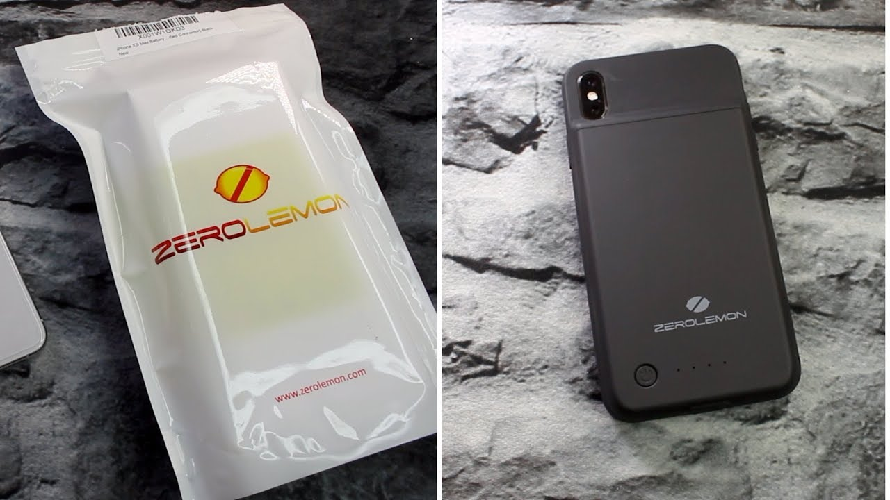 finest selection 9ca08 6f616 ZEROLEMON 500mAh Battery Case || iPhone XS Max!