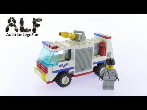 Lego Classic Town 6614 Launch Evac 1 - Lego Speed Build Review