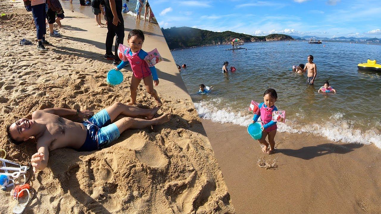我們的香港|同Margaret去長洲🏖沙灘游水