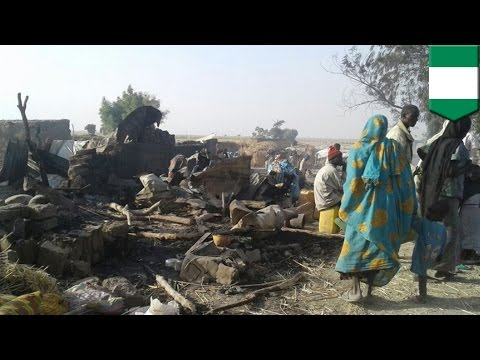 Missile attack gone wrong: Nigeria airstrike mistakenly targets refugee camp, kills 50+ - TomoNews