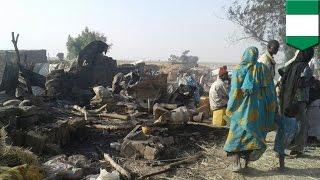 Missile attack gone wrong  Nigeria airstrike mistakenly targets refugee camp, kills 50+   TomoNews