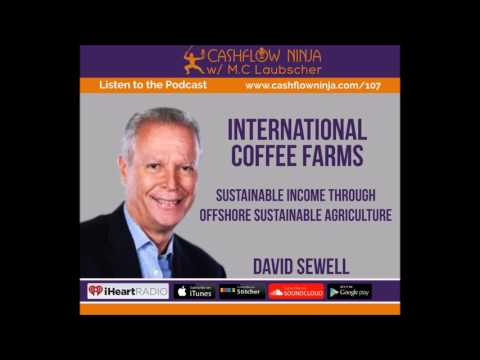 107: David Sewell: Sustainable Income Through Offshore Sustainable Agriculture