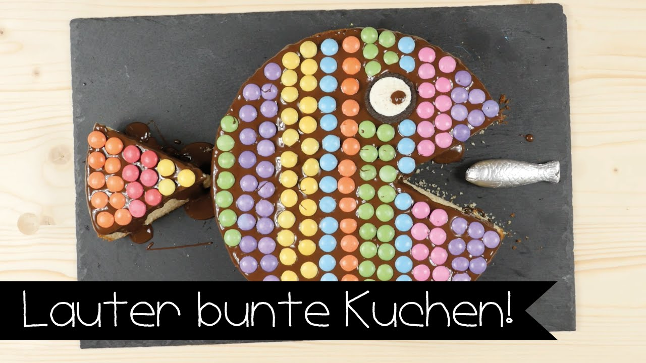 Bunter Party Kuchen Fur Kinder I Backen I Kindergeburtstag I