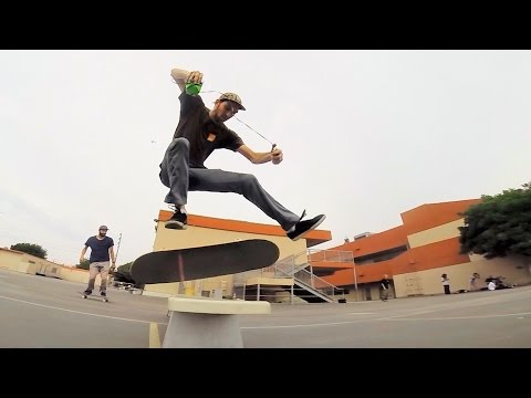 skateboarding video with Tom Rohrer LA Line