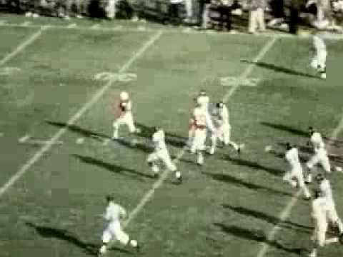 Nebraska's Frank Solich returns kickoff for Touchdown 1964