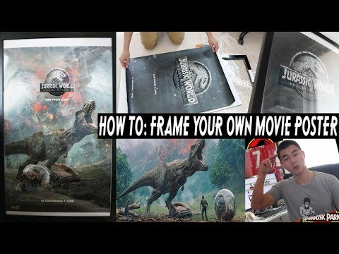 How to Frame Your Own Movie Poster-The Cheap Way!