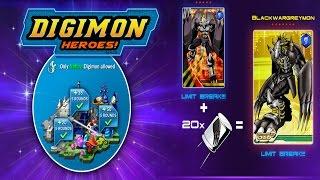 Digimon Heroes | Blackwargreymon Contra-ataca!