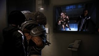 Mass Effect 3 Citadel DLC: Grunt the doorman & Sheppy the volus