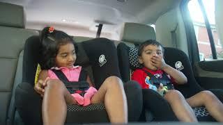 2 year old Aman & Shana funny chat
