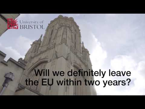 Professor Phil Syrpis on the triggering of Article 50