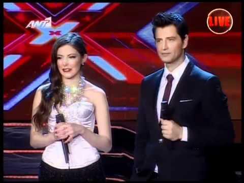 Nikki Ponte - X Factor 3 Greece - Live Show 11 (Part 1)