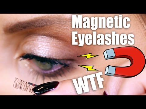 MAGNETIC LASHES ... WTF? | First Impressions